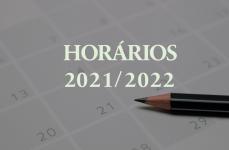 Horários 2021/2022